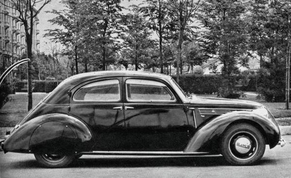 Lancia – 239 Berlina Aerodinamica