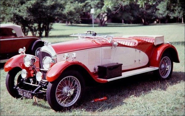 Bentley – 3 Litre Double Phaeton Viotti