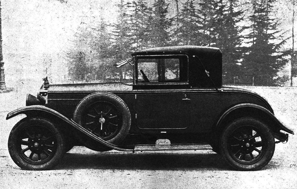 Fiat – 509 Cabriolet Montescani