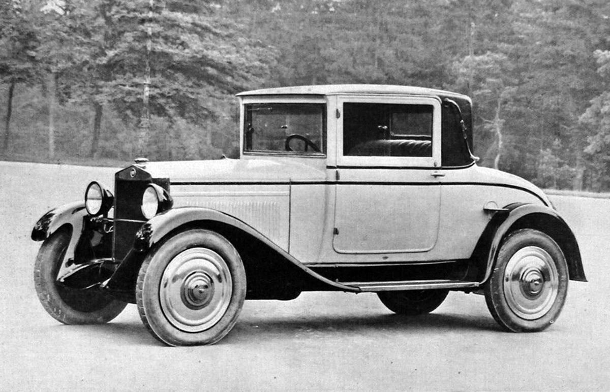 Fiat – 509 Faux Cabriolet Viotti