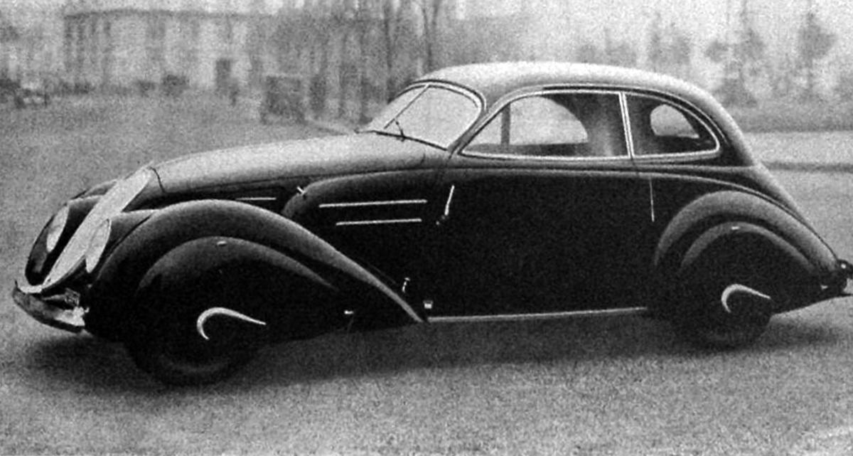 Fiat – 1500 Aerodinamica Castagna