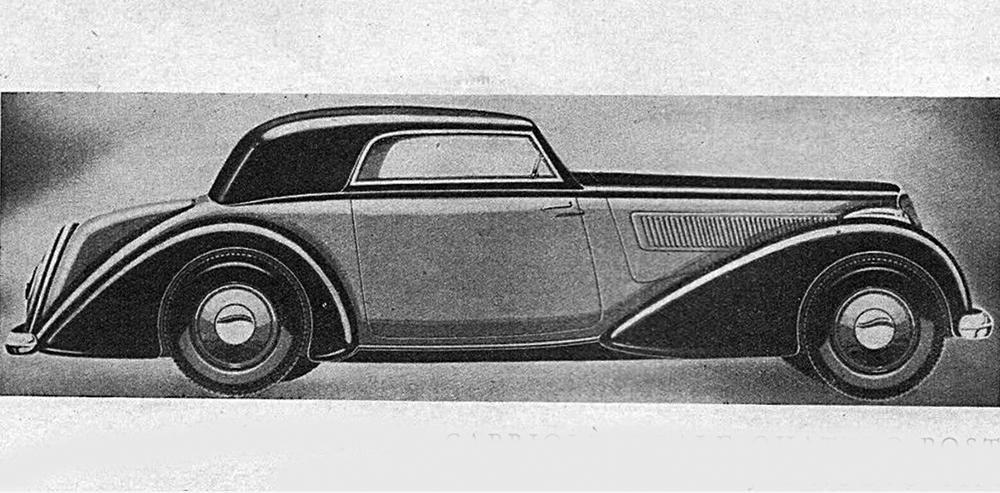 Alfa Romeo – 6C 2300 Cabriolet Reale
