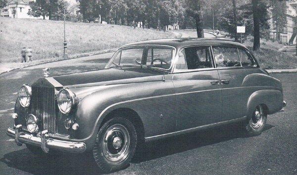 Rolls Royce – Silver Wraith Ghia