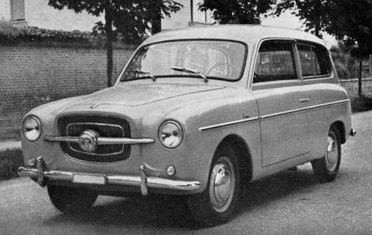 Fiat – 1100 B Giardiniera Scioneri