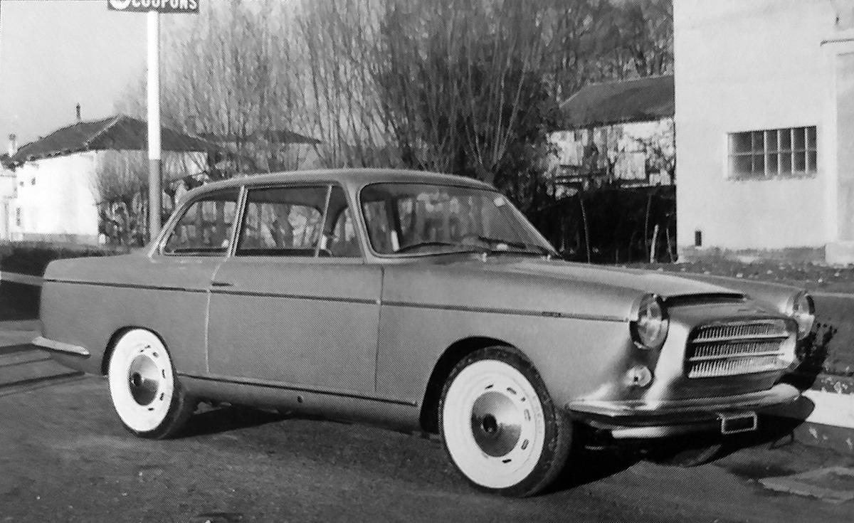 Fiat – 1500 S Coupé Scioneri