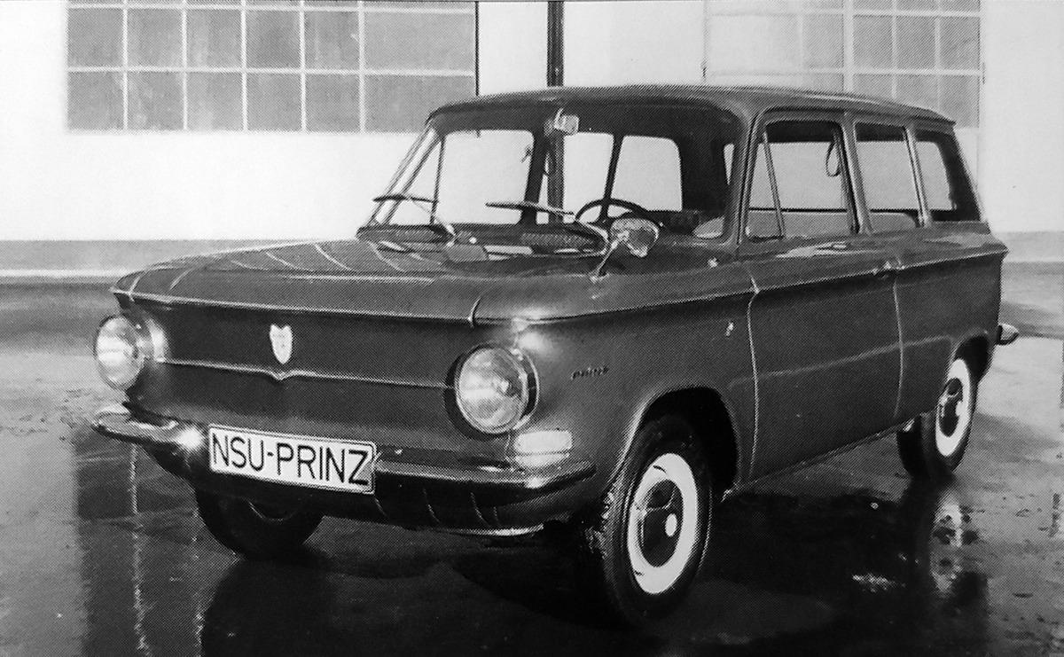 NSU – Prinz Giardinetta Scioneri