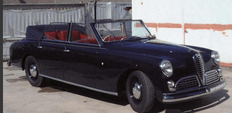 Alfa Romeo – 6C 2500 Cabriolet Ministeriale