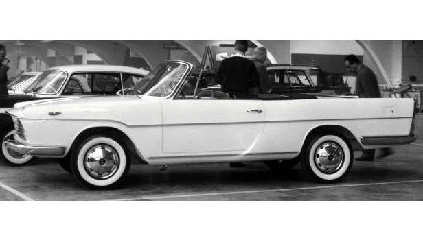 Fiat 1800, bodied by Monterosa ,Turin 1959