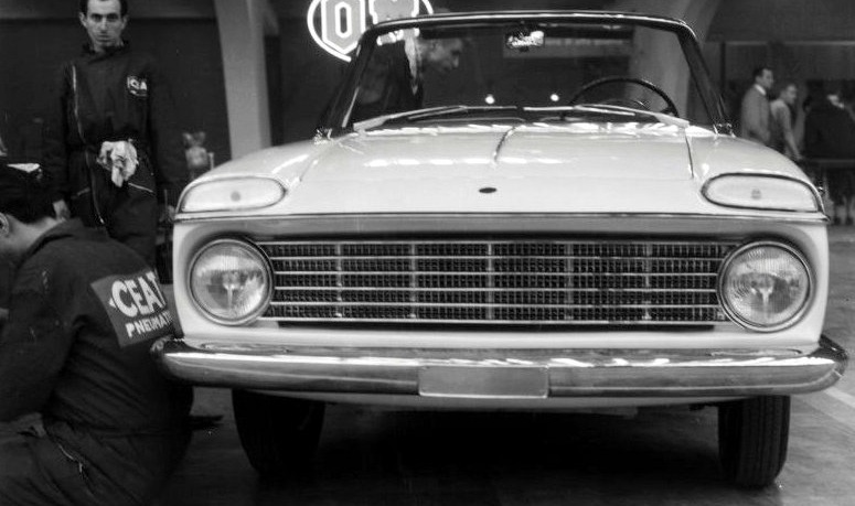 Fiat 1800, bodied by Monterosa ,Turin 1959_2