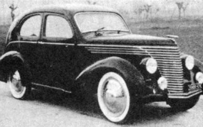 Fiat – 508 Balilla Fissore
