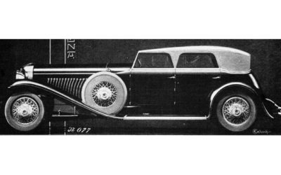 Duesenberg – Model J Convertible Sedan
