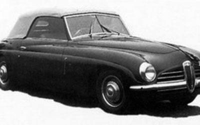 Lancia – Aprilia Cabriolet Frua